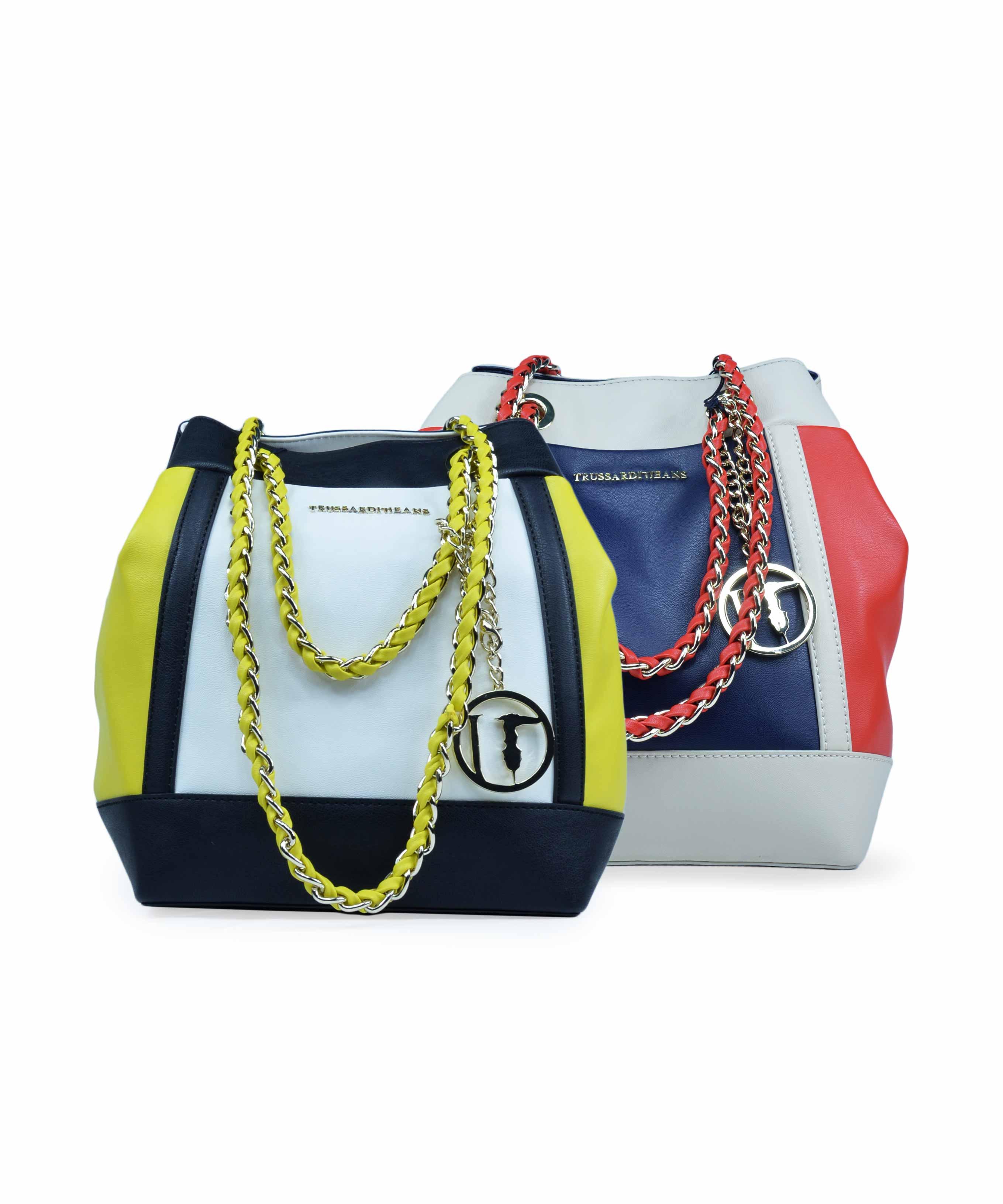 Borsa da donna secchiello -Trussardi Jeans f7a3b2172d8