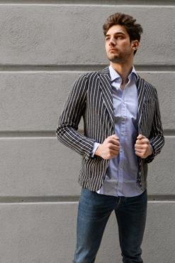 giacca da uomo stlosophy industry